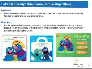 "Qualcomm, Sesame Workshop, and other partners release ""Let's Get Ready"" app in China"
